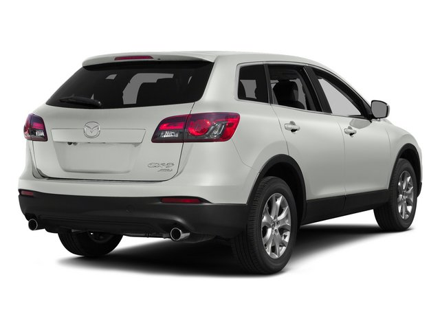 Crystal White Pearl Mica 2015 Mazda CX-9 Pictures CX-9 Utility 4D Sport AWD V6 photos rear view