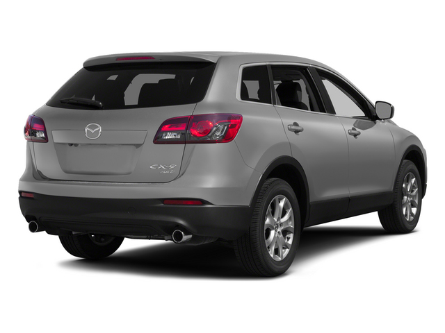 Liquid Silver 2015 Mazda CX-9 Pictures CX-9 Utility 4D Touring 2WD V6 photos rear view
