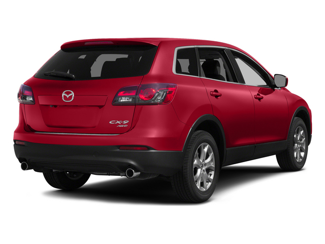 Zeal Red Mica 2015 Mazda CX-9 Pictures CX-9 Utility 4D GT 2WD V6 photos rear view