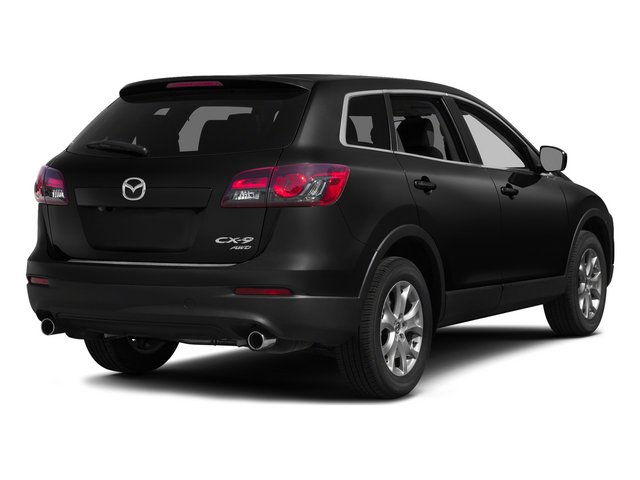 Jet Black Mica 2015 Mazda CX-9 Pictures CX-9 Utility 4D Touring 2WD V6 photos rear view
