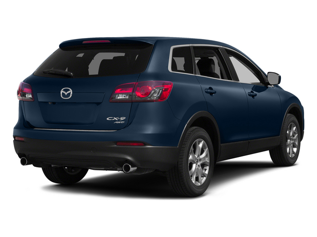 Blue Reflex Mica 2015 Mazda CX-9 Pictures CX-9 Utility 4D Touring 2WD V6 photos rear view