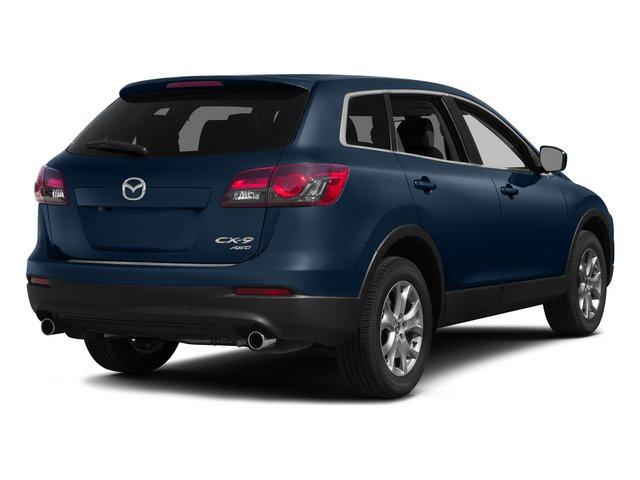 Blue Reflex Mica 2015 Mazda CX-9 Pictures CX-9 Utility 4D GT 2WD V6 photos rear view