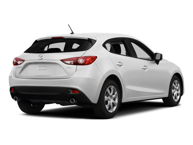 Snowflake White Pearl Mica 2015 Mazda Mazda3 Pictures Mazda3 Wagon 5D i Sport I4 photos rear view