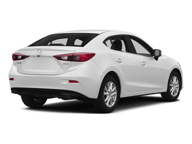Snowflake White Pearl Mica 2015 Mazda Mazda3 Pictures Mazda3 Sedan 4D s Touring I4 photos rear view