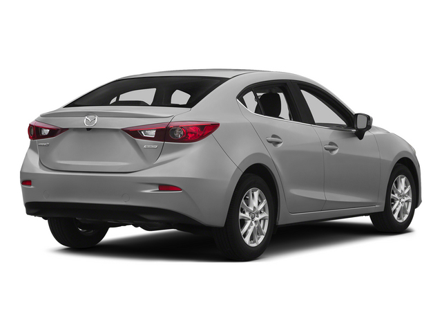 Liquid Silver Metallic 2015 Mazda Mazda3 Pictures Mazda3 Sedan 4D i Sport I4 photos rear view