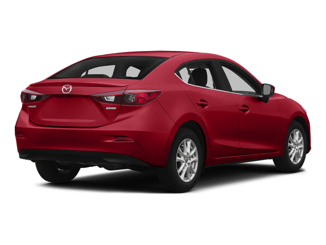 Soul Red Metallic 2015 Mazda Mazda3 Pictures Mazda3 Sedan 4D i Sport I4 photos rear view