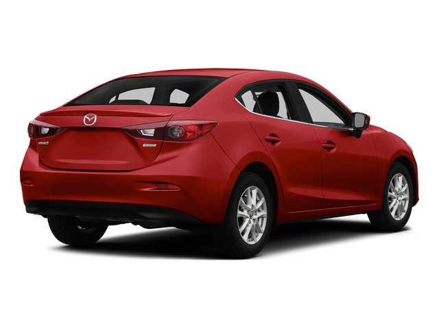 Soul Red Metallic 2015 Mazda Mazda3 Pictures Mazda3 Sedan 4D s GT I4 photos rear view