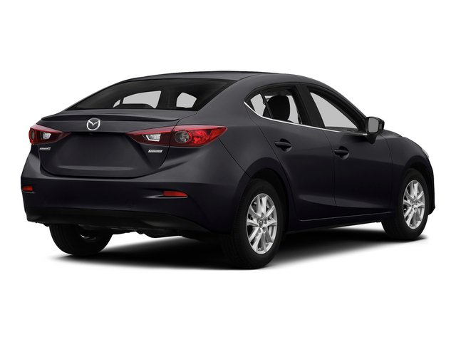 Meteor Gray Mica 2015 Mazda Mazda3 Pictures Mazda3 Sedan 4D i Sport I4 photos rear view