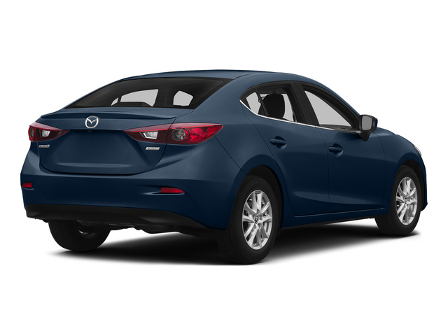 Blue Reflex Mica 2015 Mazda Mazda3 Pictures Mazda3 Sedan 4D i SV I4 photos rear view