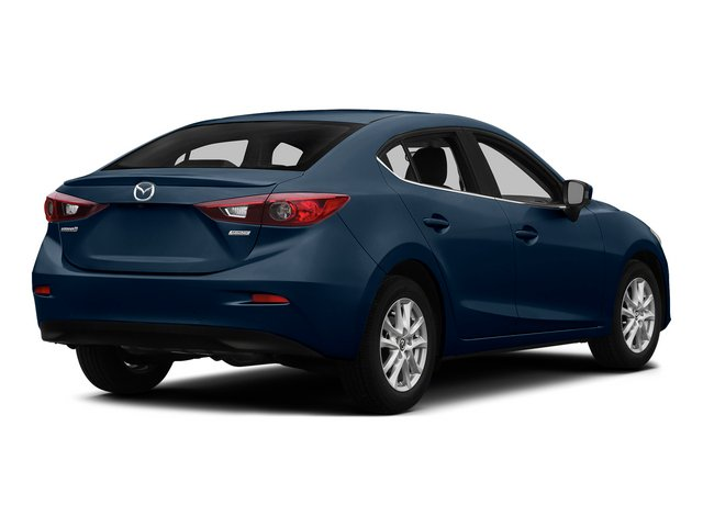 Blue Reflex Mica 2015 Mazda Mazda3 Pictures Mazda3 Sedan 4D i Sport I4 photos rear view