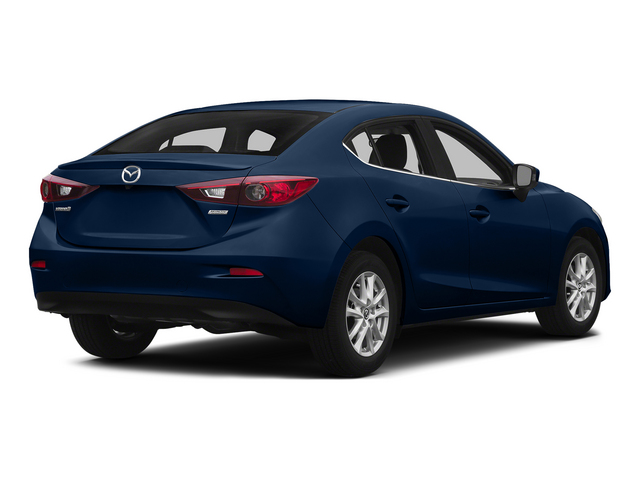 Deep Crystal Blue Mica 2015 Mazda Mazda3 Pictures Mazda3 Sedan 4D i SV I4 photos rear view
