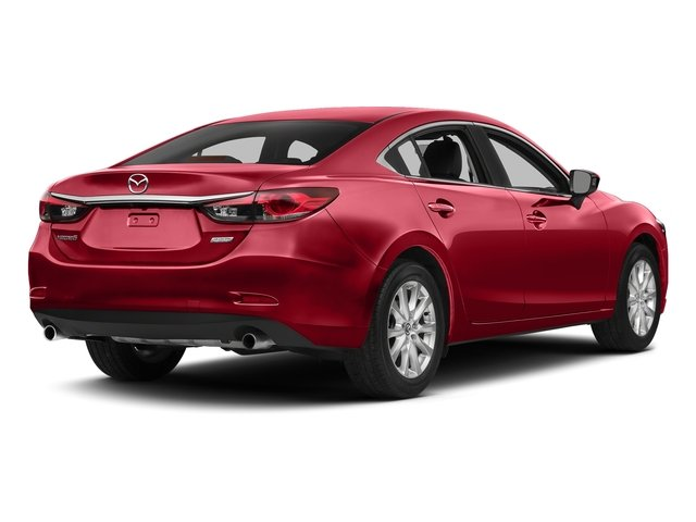 Soul Red Metallic 2015 Mazda Mazda6 Pictures Mazda6 Sedan 4D i GT I4 photos rear view