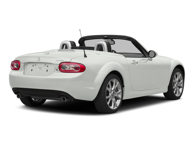 Crystal White Pearl 2015 Mazda MX-5 Miata Pictures MX-5 Miata Convertible 2D Club I4 photos rear view