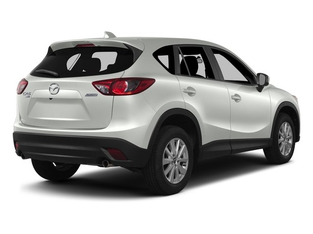 Crystal White Mica 2015 Mazda CX-5 Pictures CX-5 Utility 4D Touring AWD I4 photos rear view