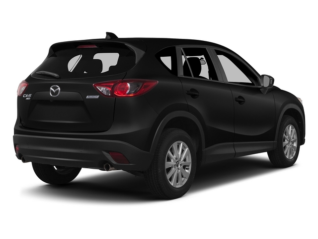 Jet Black Mica 2015 Mazda CX-5 Pictures CX-5 Utility 4D Touring AWD I4 photos rear view