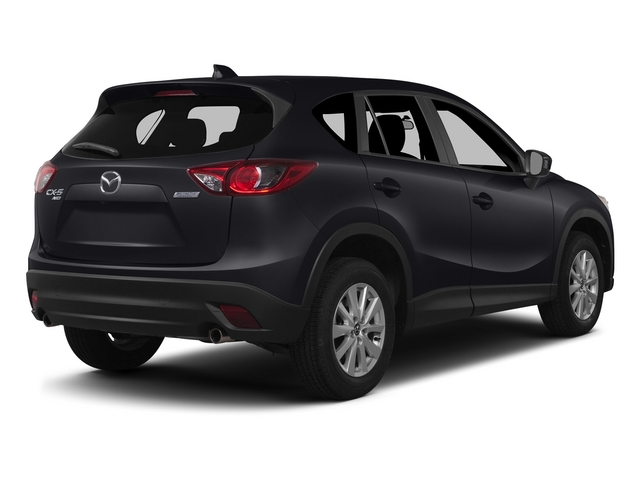 Meteor Gray Mica 2015 Mazda CX-5 Pictures CX-5 Utility 4D Touring AWD I4 photos rear view