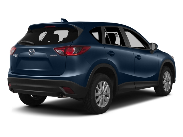 Blue Reflex Mica 2015 Mazda CX-5 Pictures CX-5 Utility 4D Touring AWD I4 photos rear view