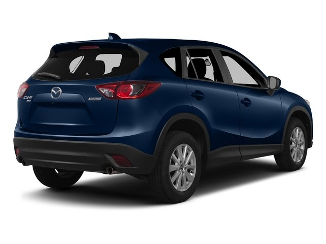 Deep Crystal Blue Mica 2015 Mazda CX-5 Pictures CX-5 Utility 4D Touring AWD I4 photos rear view