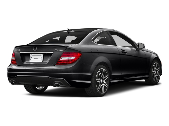 Black 2015 Mercedes-Benz C-Class Pictures C-Class Coupe 2D C350 V6 photos rear view