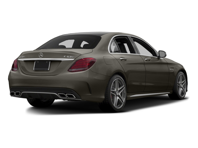 Dakota Brown Metallic 2015 Mercedes-Benz C-Class Pictures C-Class Sedan 4D C63 AMG S V8 Turbo photos rear view