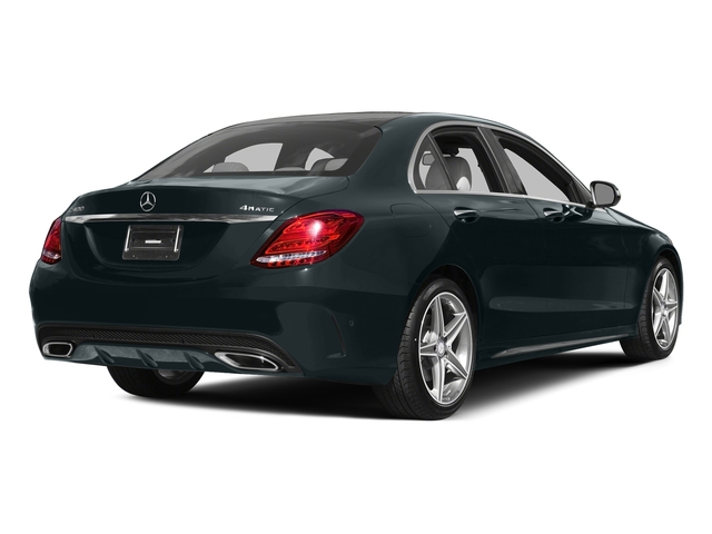 Steel Gray Metallic 2015 Mercedes-Benz C-Class Pictures C-Class Sedan 4D C400 AWD V6 Turbo photos rear view