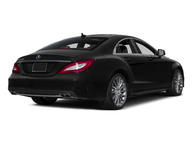 Obsidian Black Metallic 2015 Mercedes-Benz CLS-Class Pictures CLS-Class Sedan 4D CLS550 V8 Turbo photos rear view