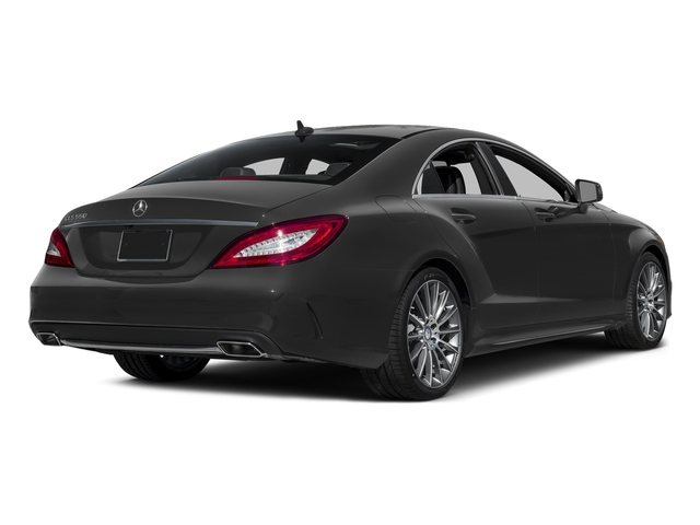 Steel Gray Metallic 2015 Mercedes-Benz CLS-Class Pictures CLS-Class Sedan 4D CLS550 V8 Turbo photos rear view