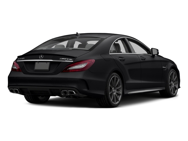 Black 2015 Mercedes-Benz CLS-Class Pictures CLS-Class Sedan 4D CLS63 AMG S AWD V8 photos rear view