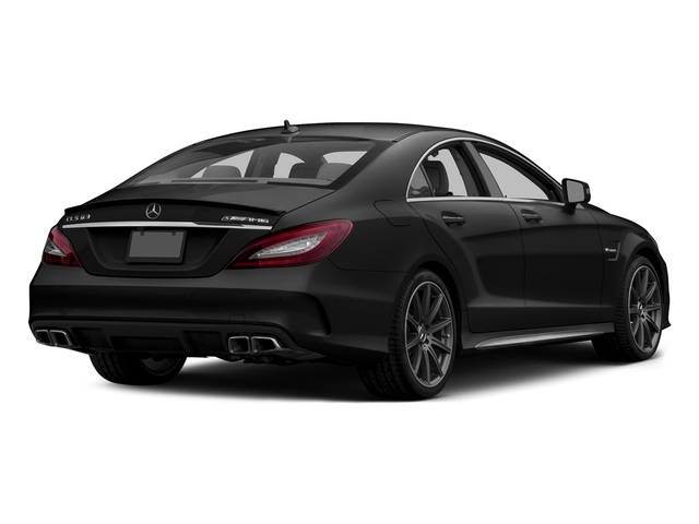 Obsidian Black Metallic 2015 Mercedes-Benz CLS-Class Pictures CLS-Class Sedan 4D CLS63 AMG S AWD V8 photos rear view