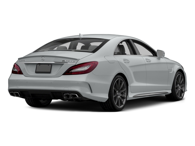 Iridium Silver Metallic 2015 Mercedes-Benz CLS-Class Pictures CLS-Class Sedan 4D CLS63 AMG S AWD V8 photos rear view