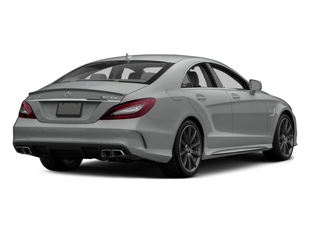 Palladium Silver Metallic 2015 Mercedes-Benz CLS-Class Pictures CLS-Class Sedan 4D CLS63 AMG S AWD V8 photos rear view