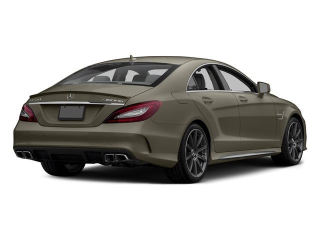designo Magno Sintered Bronze (Matte) 2015 Mercedes-Benz CLS-Class Pictures CLS-Class Sedan 4D CLS63 AMG S AWD V8 photos rear view