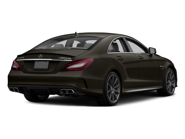 Dakota Brown Metallic 2015 Mercedes-Benz CLS-Class Pictures CLS-Class Sedan 4D CLS63 AMG S AWD V8 photos rear view