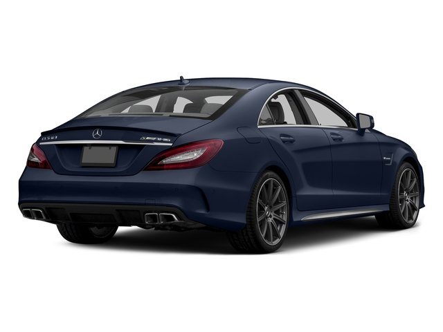Lunar Blue Metallic 2015 Mercedes-Benz CLS-Class Pictures CLS-Class Sedan 4D CLS63 AMG S AWD V8 photos rear view