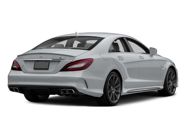 Diamond Silver Metallic 2015 Mercedes-Benz CLS-Class Pictures CLS-Class Sedan 4D CLS63 AMG S AWD V8 photos rear view