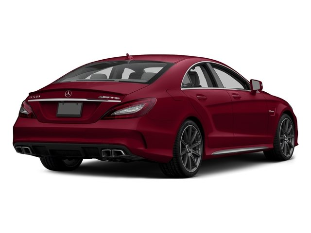 designo Cardinal Red Metallic 2015 Mercedes-Benz CLS-Class Pictures CLS-Class Sedan 4D CLS63 AMG S AWD V8 photos rear view