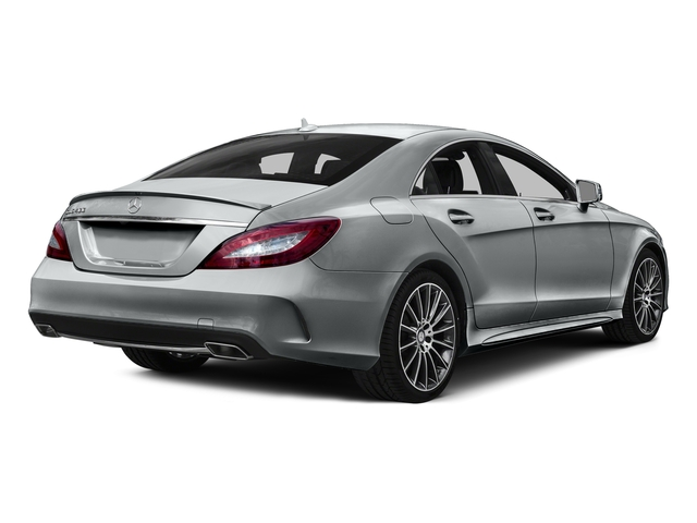 Iridium Silver Metallic 2015 Mercedes-Benz CLS-Class Pictures CLS-Class Sedan 4D CLS400 AWD V6 Turbo photos rear view