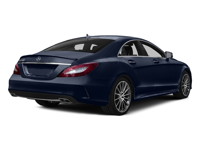 Lunar Blue Metallic 2015 Mercedes-Benz CLS-Class Pictures CLS-Class Sedan 4D CLS400 AWD V6 Turbo photos rear view