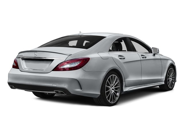 Diamond Silver Metallic 2015 Mercedes-Benz CLS-Class Pictures CLS-Class Sedan 4D CLS400 AWD V6 Turbo photos rear view