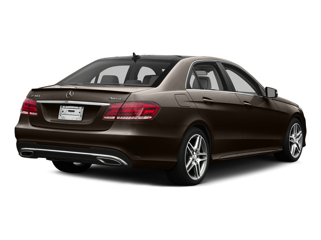 Dolomite Brown Metallic 2015 Mercedes-Benz E-Class Pictures E-Class Sedan 4D E400 V6 Turbo photos rear view