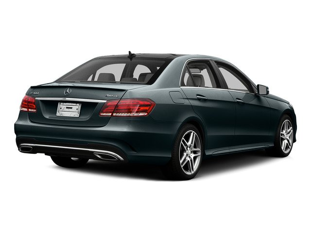 Steel Gray Metallic 2015 Mercedes-Benz E-Class Pictures E-Class Sedan 4D E400 V6 Turbo photos rear view