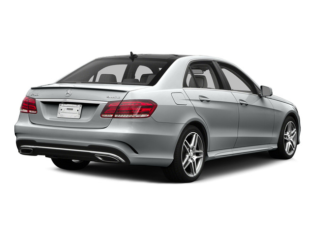 Iridium Silver Metallic 2015 Mercedes-Benz E-Class Pictures E-Class Sedan 4D E400 V6 Turbo photos rear view