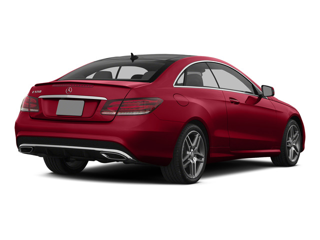 Mars Red 2015 Mercedes-Benz E-Class Pictures E-Class Coupe 2D E550 V8 Turbo photos rear view