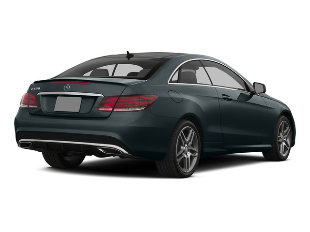 Steel Gray Metallic 2015 Mercedes-Benz E-Class Pictures E-Class Coupe 2D E550 V8 Turbo photos rear view