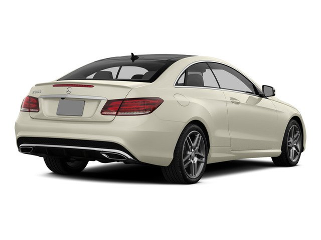 designo Diamond White Metallic 2015 Mercedes-Benz E-Class Pictures E-Class Coupe 2D E550 V8 Turbo photos rear view