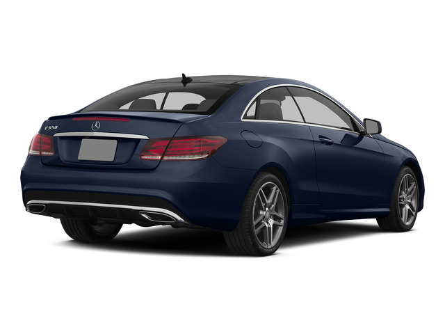 Lunar Blue Metallic 2015 Mercedes-Benz E-Class Pictures E-Class Coupe 2D E550 V8 Turbo photos rear view