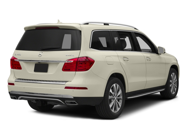 Diamond White Metallic 2015 Mercedes-Benz GL-Class Pictures GL-Class Utility 4D GL450 4WD V6 photos rear view