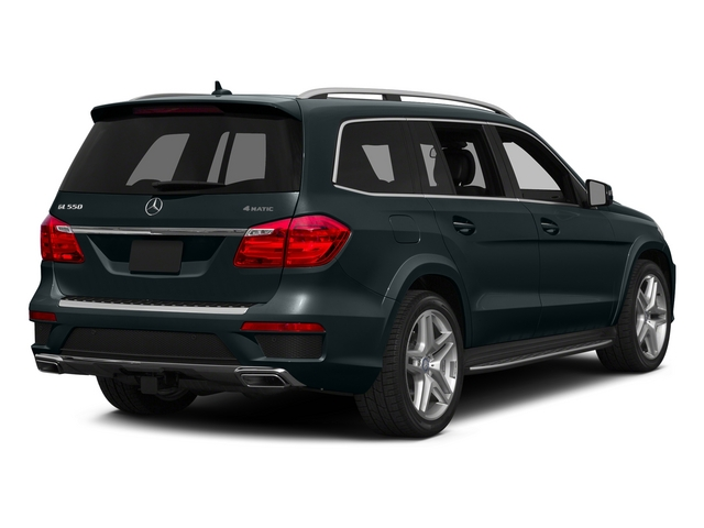 Steel Gray Metallic 2015 Mercedes-Benz GL-Class Pictures GL-Class Utility 4D GL550 4WD V8 photos rear view