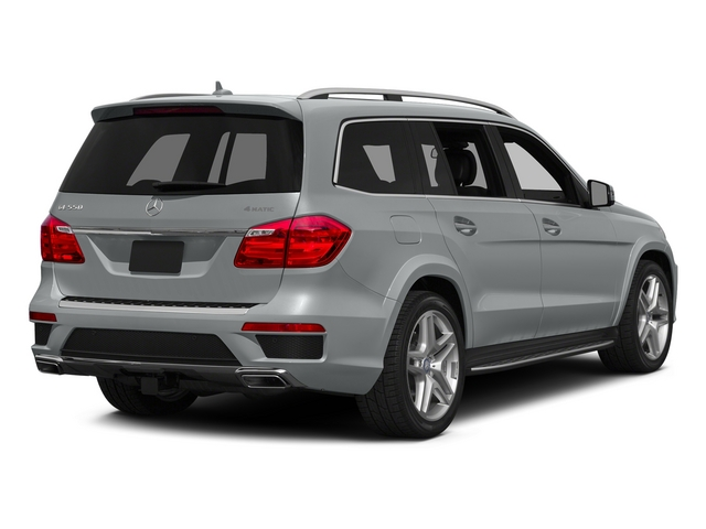 Iridium Silver Metallic 2015 Mercedes-Benz GL-Class Pictures GL-Class Utility 4D GL550 4WD V8 photos rear view