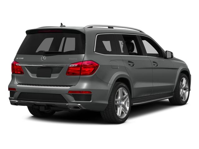 Palladium Silver Metallic 2015 Mercedes-Benz GL-Class Pictures GL-Class Utility 4D GL550 4WD V8 photos rear view